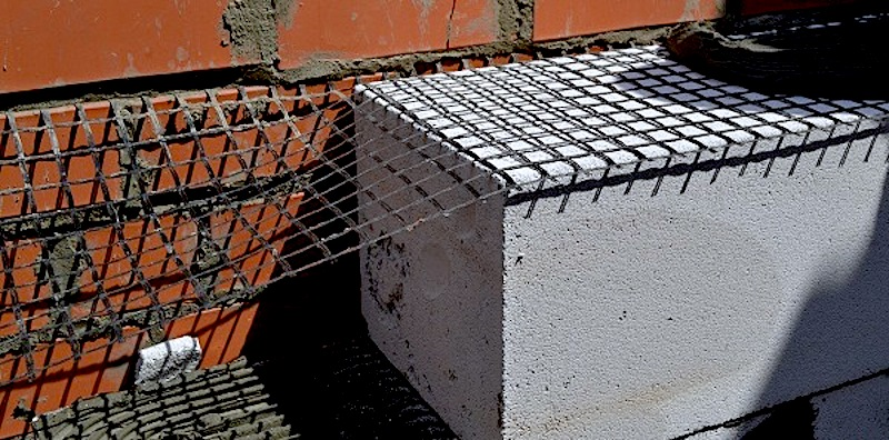 сетка для армирования газобетона
